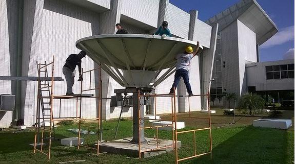 Aeronáutica realiza migração satelital do sistema Telesat