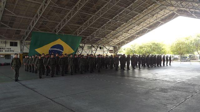 Tropas do CMNE iniciam deslocamento para atuar na Operação São Francisco