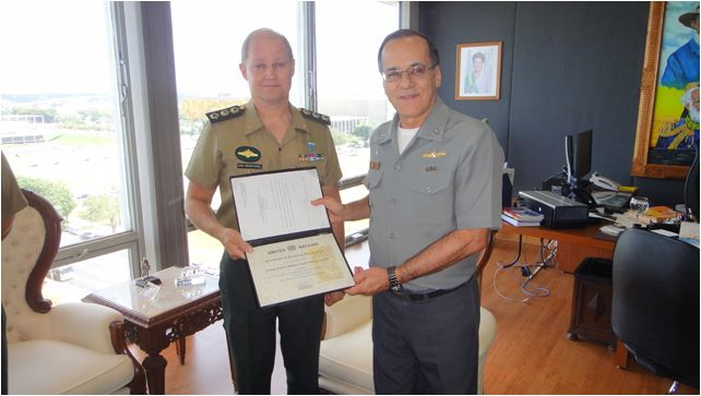 CCOPAB recebe certificado da ONU