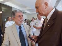 Ministro Amorim na entrevista ao jornalista Luiz Carlos Pereira Coelho, Editor da FM