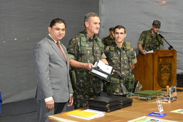 1º Batalhão de Infantaria de Selva Aeromóvel comemora aniversário de 100 anos