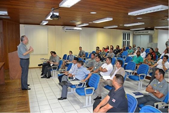 """Comando do 9º Distrito Naval realiza reunião com Órgãos extra-Marinha para Operação """"Amazônia Azul"""""""