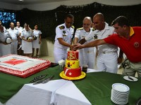 Solenidade contou com militares e integrantes da Associação de Veteranos