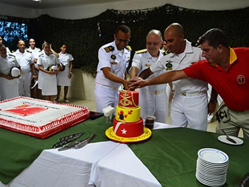Comando do 9º Distrito Naval promove solenidade de 207 anos do Corpo de Fuzileiros Navais