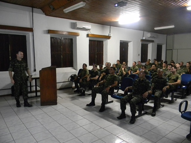 Capacitação Técnica e Tática do Efetivo Profissional (CTTEP) no 6º Grupo de Artilharia de Campanha