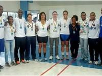 Atletas dos Estilos Greco-Romano e Livre da Marinha do Brasil