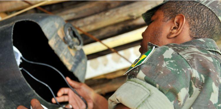 100 homens do Exército estão recebendo treinamento da Secretaria de Saúde do DF para combater a proliferação do mosquito Aedes aegypti