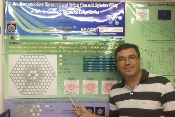Pesquisadores brasileiros ganham destaque internacional com artigo sobre fibra óptica