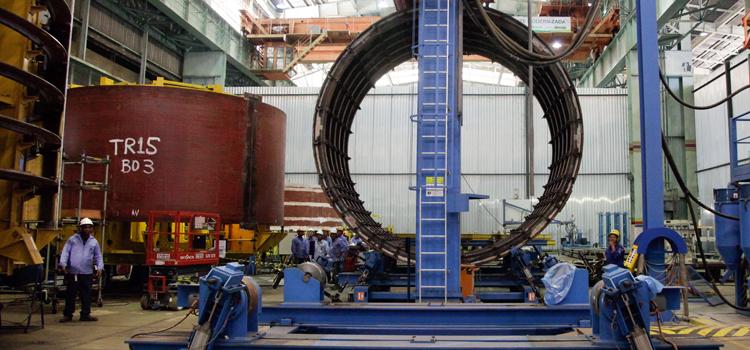 O Programa de Desenvolvimento de Submarinos (Prosub) é desenvolvido conjuntamente com a estatal francesa DCNS