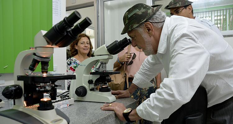 Laboratório do CIGS trabalha no desenvolvimento de medicamento para tratamento cutâneo de leishmaniose