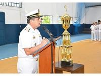 Solenidade foi presidida pelo Vice-Almirante Liseo Zampronio