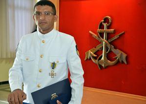 Sargento da Marinha Cleidiano da Costa Santos