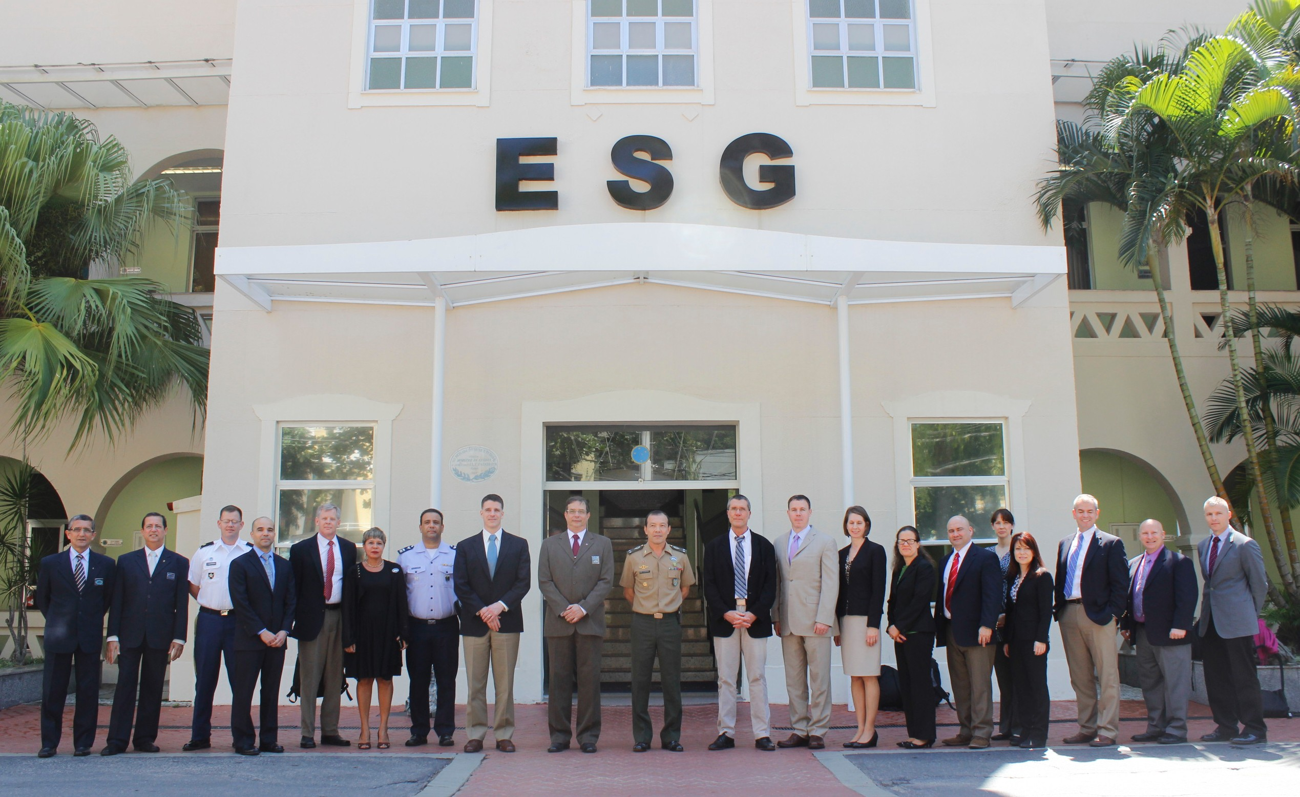 National War College visita a ESG