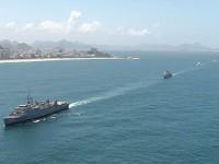 Parada Naval contou com sete navios