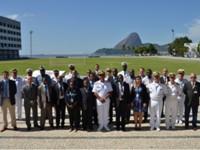Delegações de países lusófonos na Escola Naval