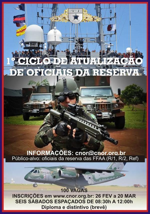 1º CICLO DE ATUALIZAÇÃO DE OFICIAIS DA RESERVA