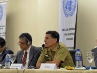 Comandante da Monusco, general Santos Cruz chefia cerca de 20 mil militares de 18 países