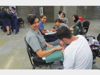 Evento ofereceu serviços de saúde e beleza para militares e servidoras civis