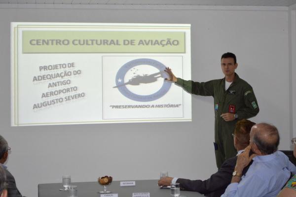 Base Aérea de Natal vai receber centro cultural da aviação