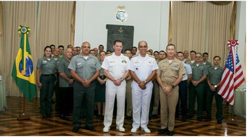 Delegação do ComOpNav participa do IX Comitê Naval Operativo entre a Marinha do Brasil e a Marinha dos EUA