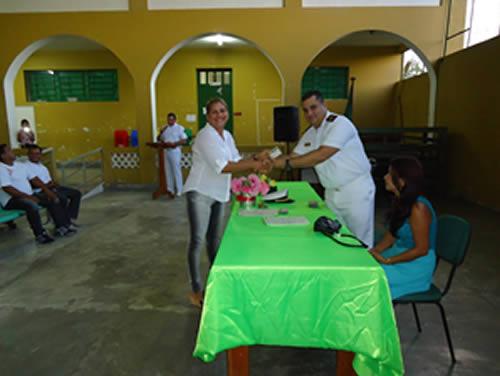 "Capitania Fluvial de Tabatinga realiza Projeto ""Capitania Itinerante"" em Amaturá, no Amazonas"