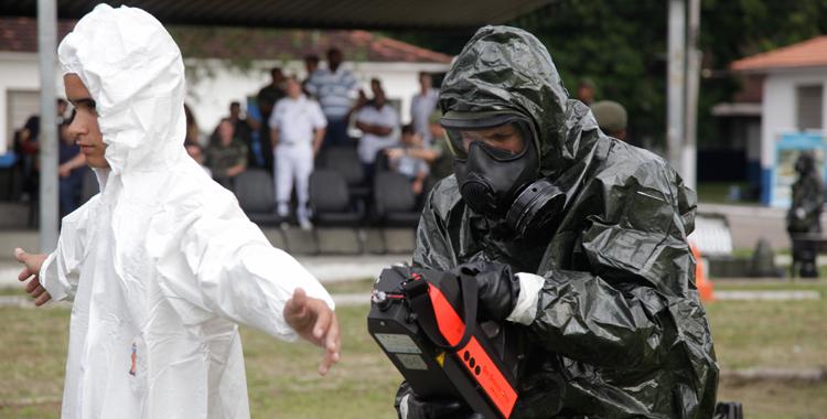 Marinha do Brasil inaugura Centro de Defesa Nuclear Biológica Química e Radiológica