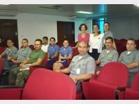Participantes na Aula inaugural, no Comando do 8º Distrito Naval