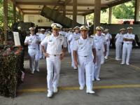 Comitiva conheceu acervo material da Força de Fuzileiros da Esquadra