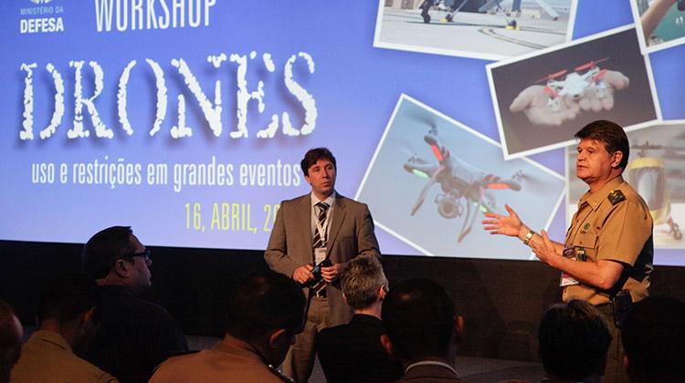 LAAD 2015: governo criará regras sobre uso de drones para os Jogos Olímpicos Rio 2016