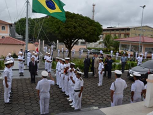 Honras de Recepção ao Embaixador Jorge Bayona