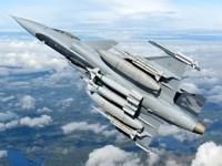 Os caças Gripen NG vão equipar a Força Aérea - Foto: Saab