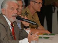 Ministro Jaques Wagner encerrou sua participação na LAAD com coletiva à imprensa: investimentos assegurados