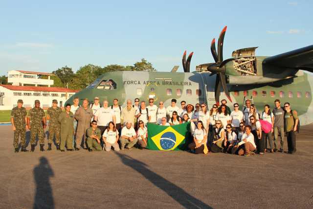 16ª Brigada de Infantaria de Selva participa da abertura da 32ª Jornada dos Expedicionários da Saúde