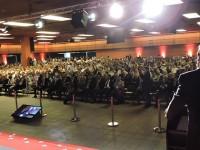 Wagner na abertura da LAAD 2015: nossa pregação da paz não nos faz descuidar da nossa profissionalização, da atualização das nossas Forças Armadas através do Ministério da Defesa