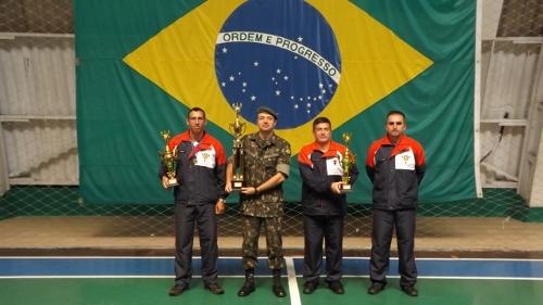 13º Grupo de Artilharia de Campanha participou dos Jogos Desportivos do Comando de Artilharia do Exército
