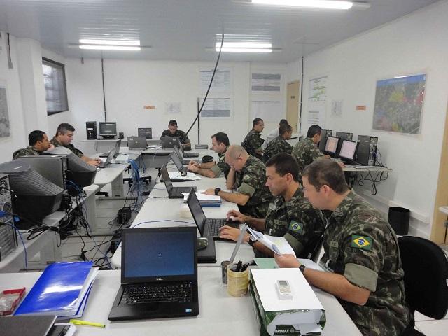 1ª Divisão de Exército – Preparação para os Jogos Olímpicos 2016