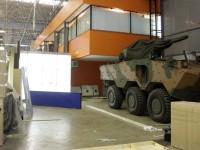 A LAAD 2015 começa nesta terça(14): o blindado Guarani será um dos equipamentos expostos na maior feira de defesa da América Latina