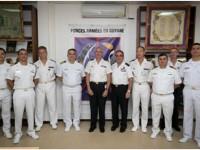 Comitiva esteve com Major-Brigadeiro Phillippe Adam, na cidade de Caiena