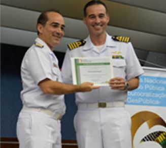 """Navio-Escola """"Brasil"""" recebe certificação de excelência do GESPÚBLICA"""