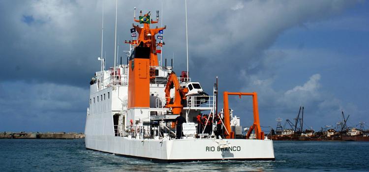 """O Navio Hidroceanográfico """"Rio Branco"""" foi entregue em Manaus - Foto: Inace"""