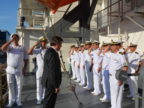 Recepção ao Embaixador Luiz Fernando Serra