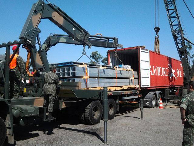 Exército Brasileiro começa a receber novo lote de pontes Logistic Support Bridge