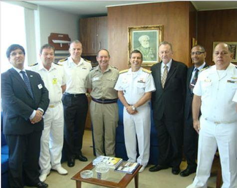 Diretoria de Aeronáutica recebe delegação da Organização de Defesa e Segurança (DSO) do Reino Unido