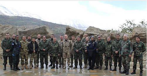 Força-Tarefa Marítima da UNIFIL e Marinha do Líbano realizam reunião do Tipo Flag Talks
