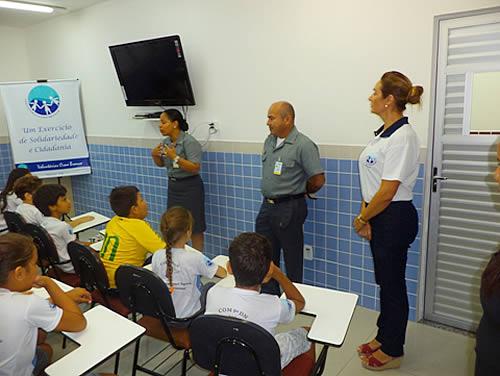 """Voluntárias Cisne Branco Seccional Manaus iniciam o Projeto """"Virtudes"""""""