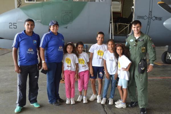 Base Aérea de Natal dá início às atividades do Programa Forças no Esporte