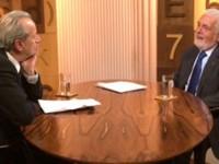 """Ministro Jaques Wagner concedeu entrevista ao programa """"Diálogos"""", da GloboNews, comandado pelo jornalista Mário Sérgio Conti"""