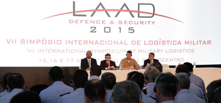 LAAD 2015 sedia VII Simpósio Internacional de Logística Militar