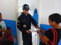 Militar do NAsH realiza distribuição de medicamentos