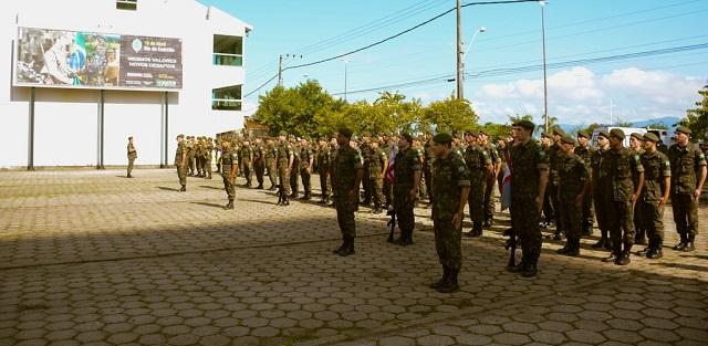 14ª Brigada de Infantaria Motorizada realiza solenidade de abertura da Semana do Exército